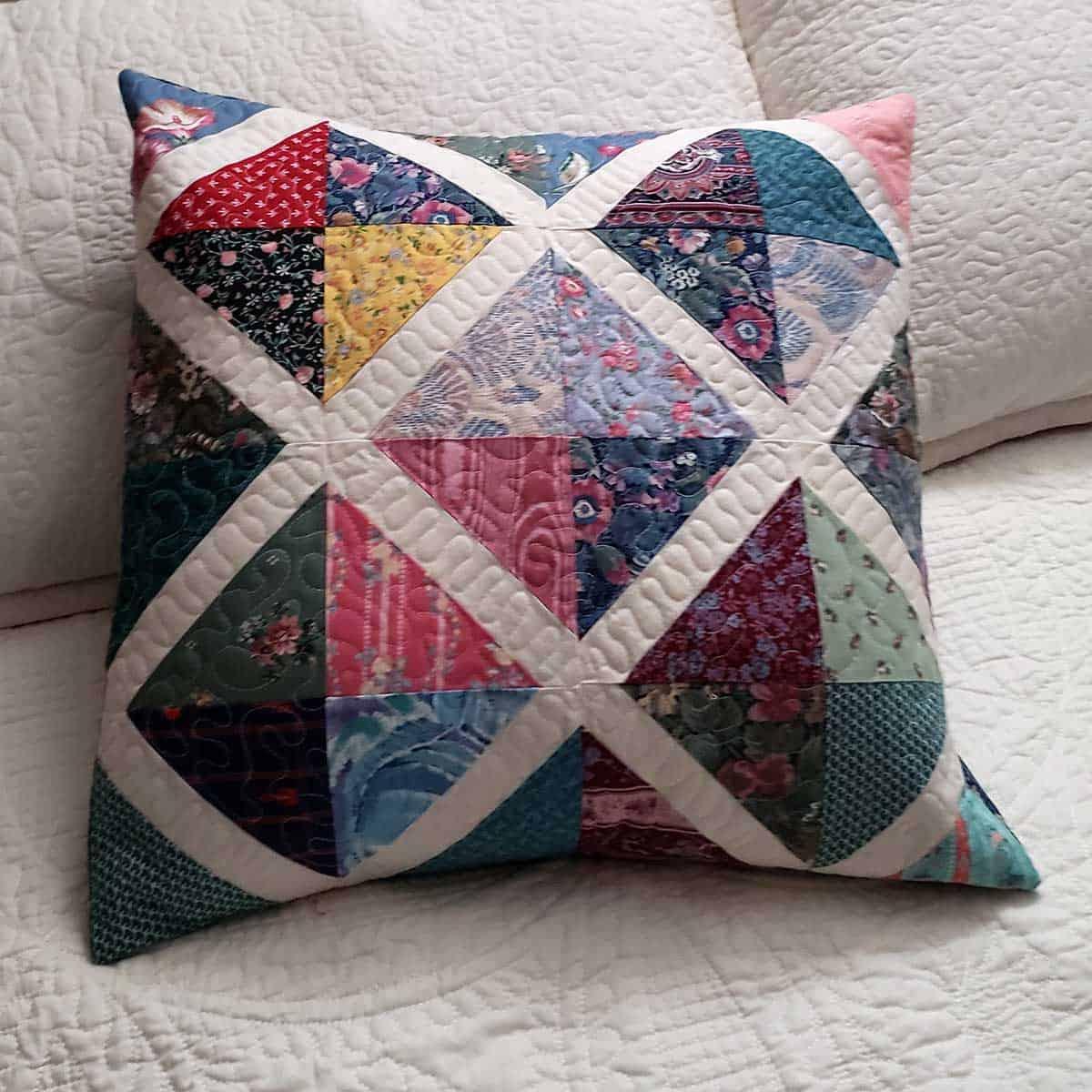 X Spot pillow