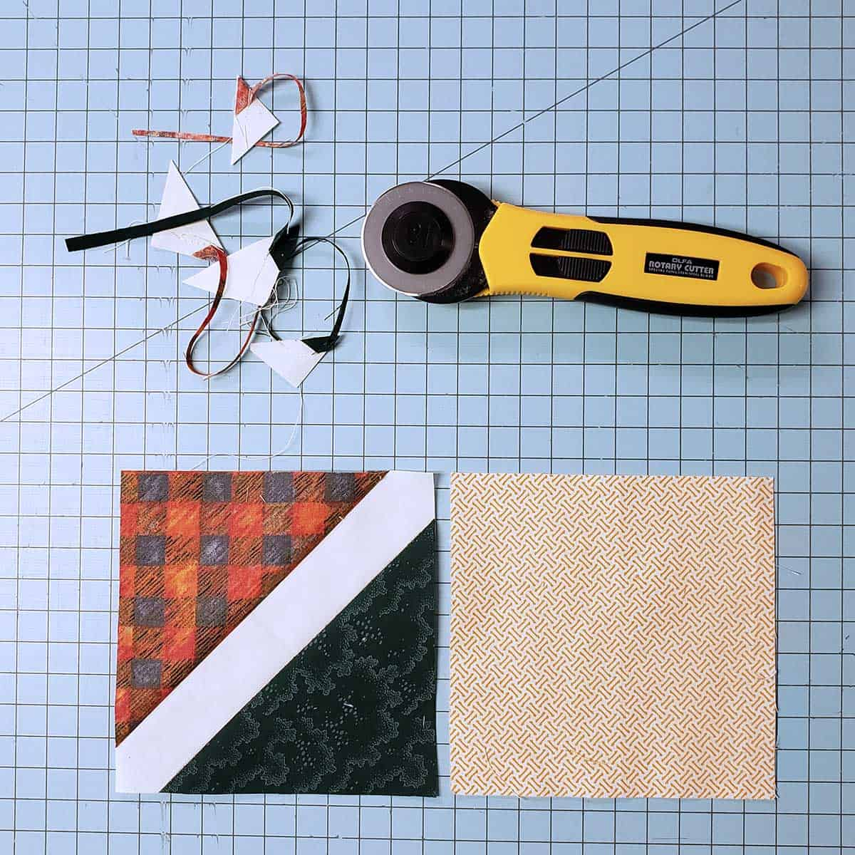 Making the quilt blocks